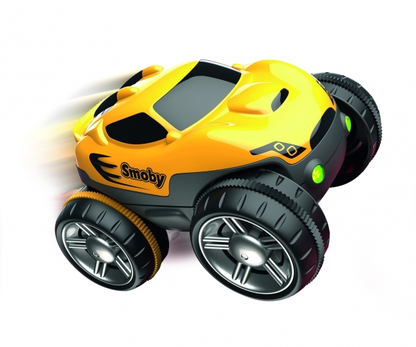 FLEXTREME YELLOW RACING CAR