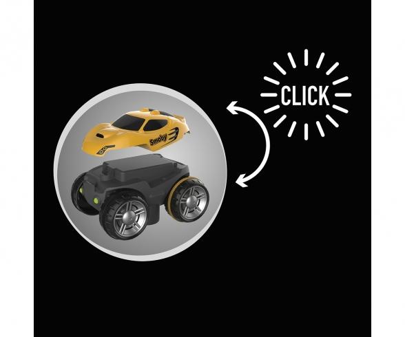 Smoby FleXtreme Fahrzeug Rennauto Gelb