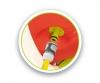 Smoby KS Rutsche mit Wasseranschluss