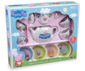 Smoby Peppa Porzellan-Kaffee-Geschirrset
