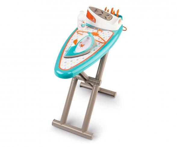 Ironing board + stream iron