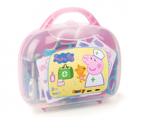 Peppa doctor suitcase