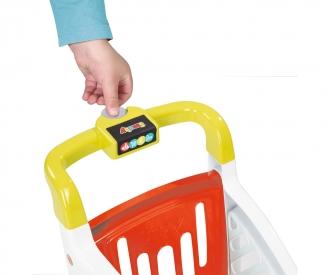Smoby Supermarkt mit Einkaufswagen rot/grün