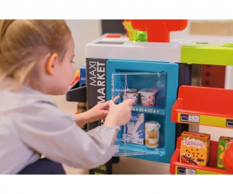 Smoby Maxi Supermarket with shopping trolley