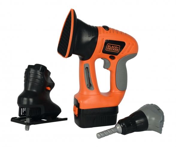Smoby Black+Decker eVo 3-in-1 Werkzeug
