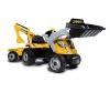 Smoby Traktor Builder Max gelb