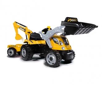 Tracteur Builder Max + remorque