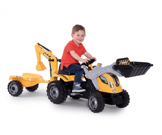 SMOBY Tractor Builder Max yellow