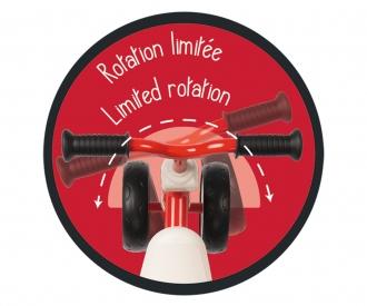 Smoby Rookie Rutscherfahrzeug Rot