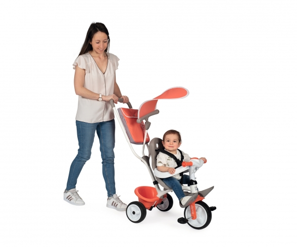 Smoby Baby Balade Tricycle Red