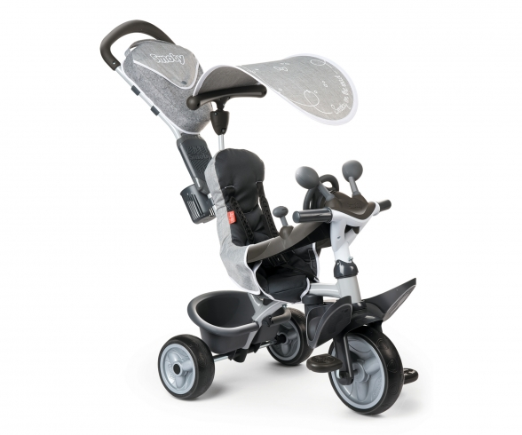 Baby Driver Comfort Tricycle Grey
