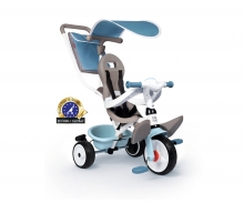 Smoby Tricycle Baby Balade Plus Bleu