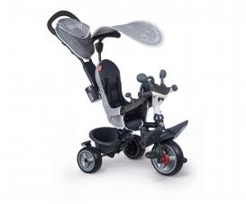Smoby Dreirad Baby Driver Plus Grau