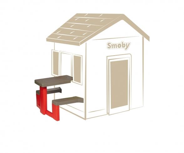 Smoby Spielhaus Zubehör Picknicktisch