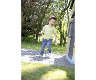 Smoby Bodenplatten-Set mit Klicksystem, 6 Stück