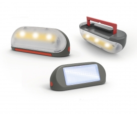 Smoby Spielhaus Zubehör Solarlampe mit Tragegiff