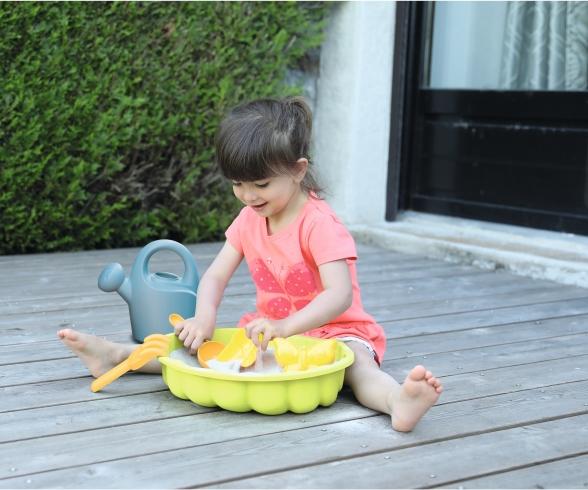 Smoby Sandspielmuschel mit Sandspielzeug