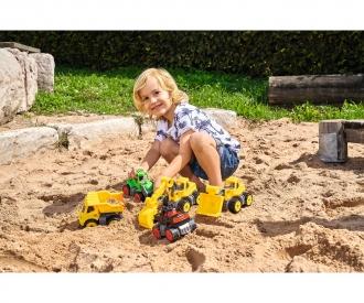 BIG-Power-Worker Mini Monstertruck