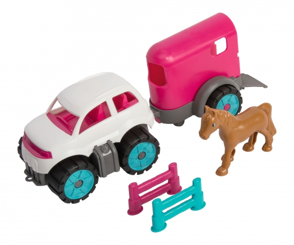 BIG-Power-Worker Mini Ponytransporter-Set