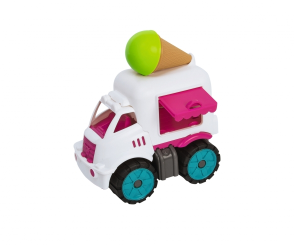 BIG Power-Worker Mini Ice Cream Van
