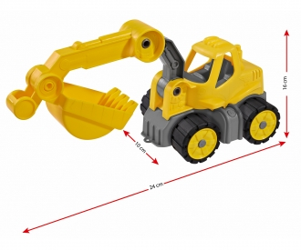 BIG Power Worker Mini Digger