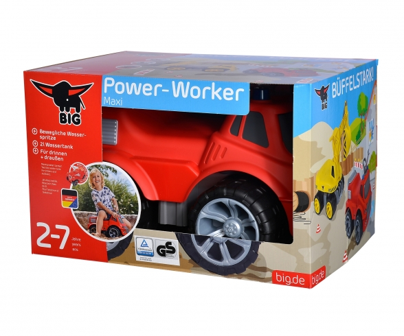 BIG-Power-Worker Maxi camion pompier