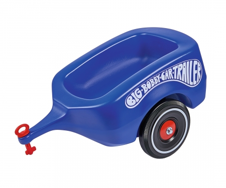 BIG-Bobby-Car-Trailer Royalblau