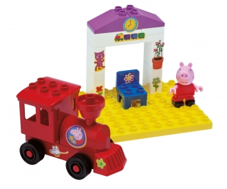 PlayBIG Bloxx Peppa Pig Train Stop