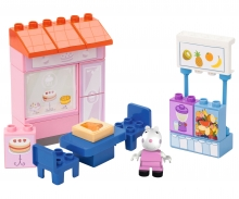 BIG-Bloxx Peppa Pig Cake Shop
