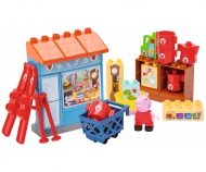 PlayBIG Bloxx Peppa Pig Mr Fox's Shop