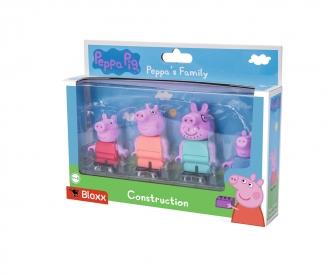BIG-Bloxx Peppa Pig Peppa´s Family
