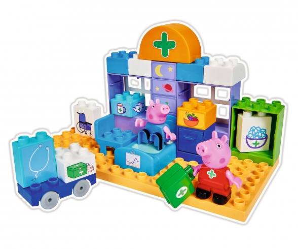 BIG-Bloxx Peppa Pig Medical Care Case