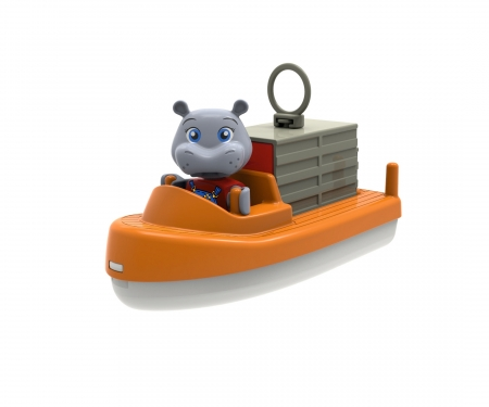 AquaPlay ContainerBoat + TransportBoat