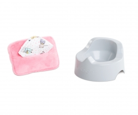 "Corolle MPP 12-14""/30-36cm Potty + Wipe"
