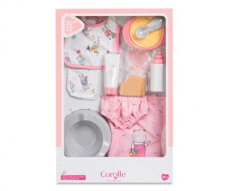 """Corolle 12"""" Large Access. Set"""