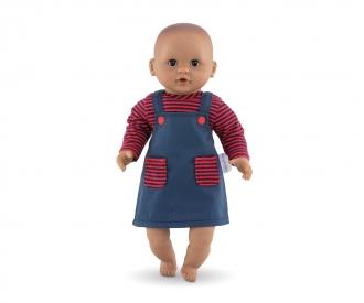 "Corolle 12""/30cm Dress, Striped"