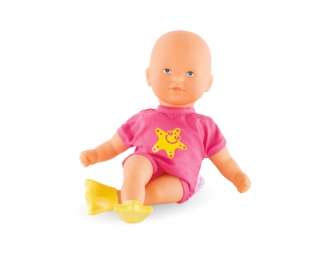 Corolle MPP Mini Badepuppe, pink