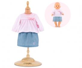 """Corolle 14""""/36cm Top + Skirt"""