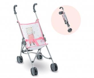 "Corolle 14-17"" Umbrella Stroller Pink"