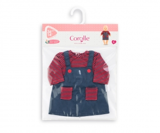 "Corolle 14""/36cm Dress, Striped"