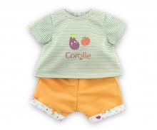 "Corolle 14"" T-shirt + Shorts Garden Delights"