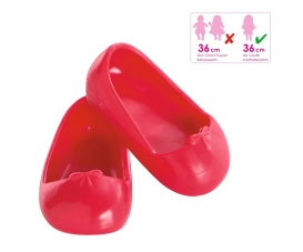 Corolle Ballerinaschuhe, kirschrot