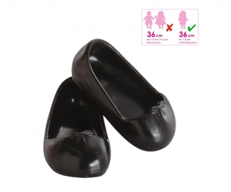 Corolle Ballerinaschuhe, schwarz