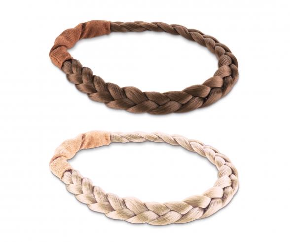Corolle geflochtenes Haarband, 2-sort.