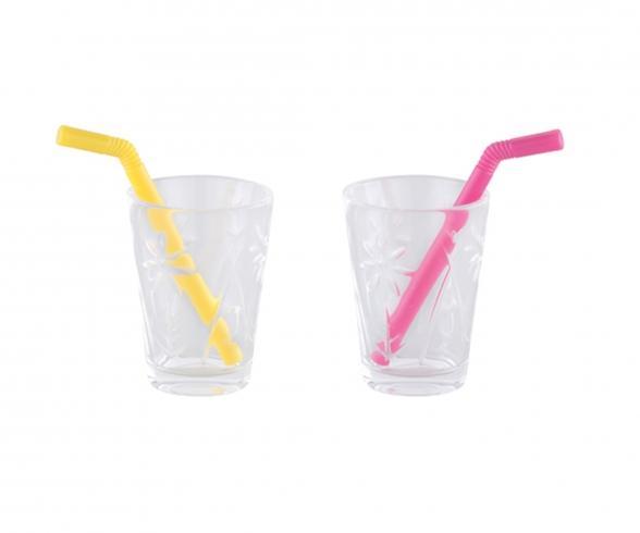 Corolle 2 Glasses / 2 Straws
