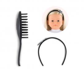 Corolle MC Hair Brush Set-Star