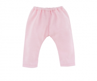 Corolle 2 Leggins, grau + pink