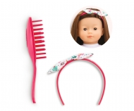 Corolle MC Hair Brush Set, Tropicorolle