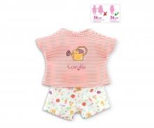 Corolle T-Shirt+Shorts, Gartenspaß
